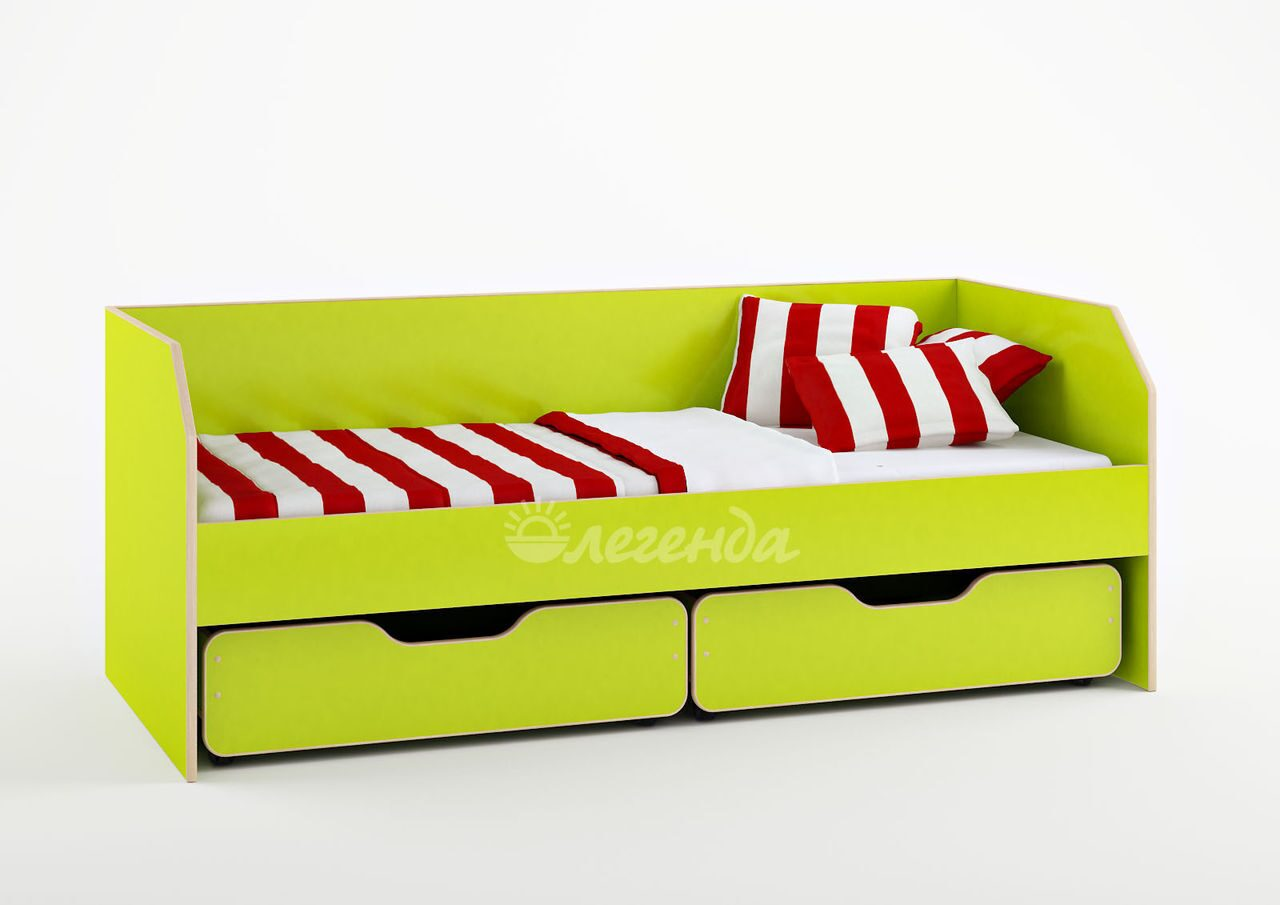 Детская кровать с бортиками и ящиками своими руками