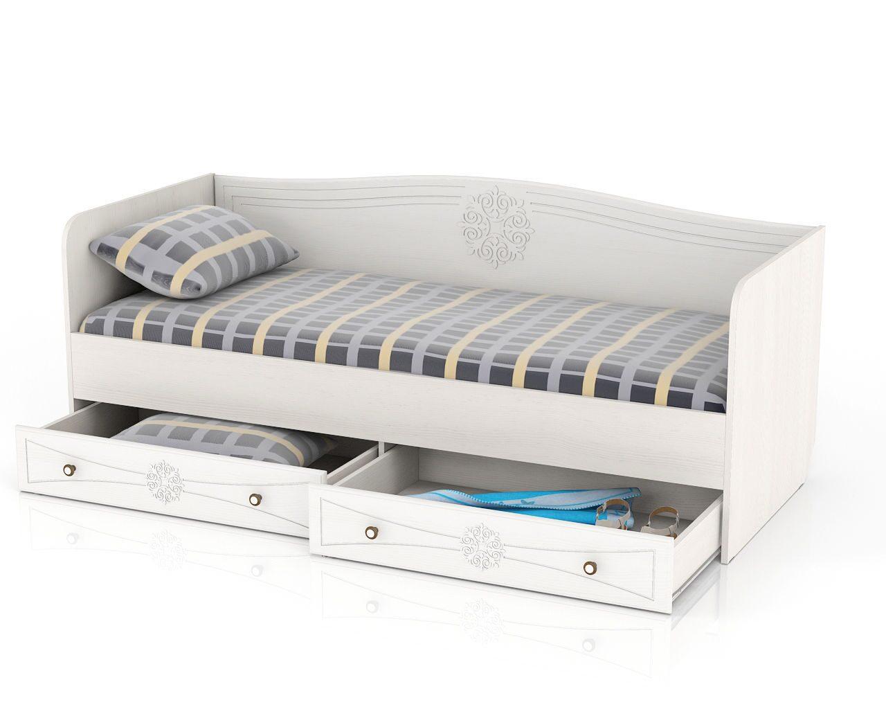 Кровать-софа с выдвижными ящиками своими руками
