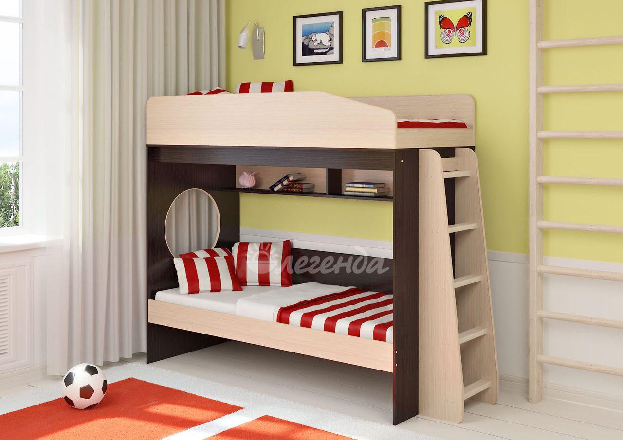 фото детских двухъярусных кроватей