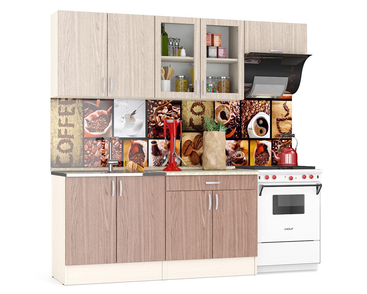 Кухня клер 2200 (модульная) купить в спб по цене производите.